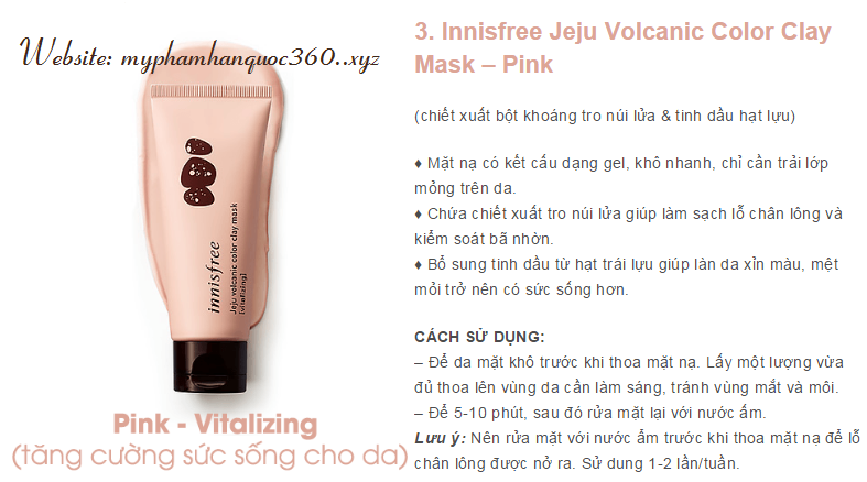 clay mask pink